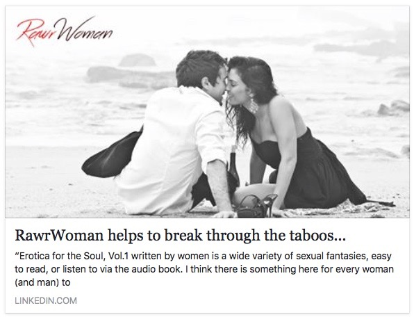 RawrWoman helps to break through to Taboos